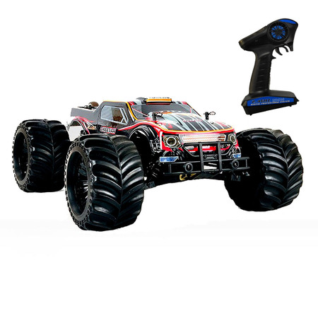 Brushless 1/10 Hobby RC car Electric Monster truck 80km/h (120A) with black