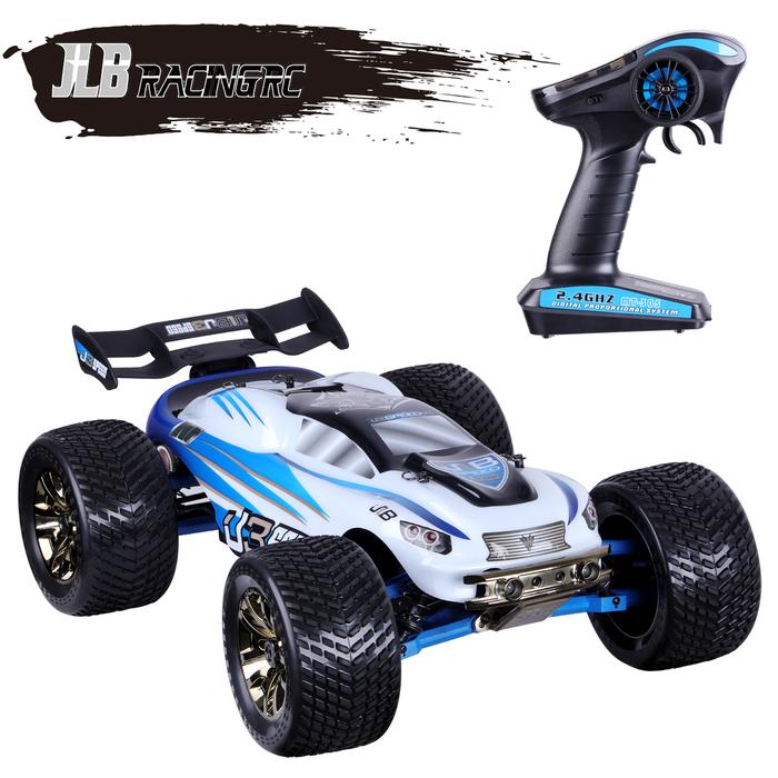 jlbracingrc 1 10 scale 4wd rc car electric racing monster. Black Bedroom Furniture Sets. Home Design Ideas