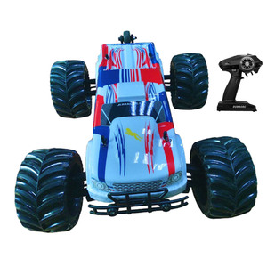 Brushless 1/10 Hobby RC car Electric Monster truck 80km/h (120A)with white
